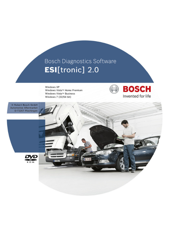Программа BOSCH ESItronic for truck